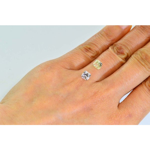 1カラットクッションカットダイヤモンドDカラーIF GIA鑑定書つき 透明感のある優しい輝きさん|diadia|07