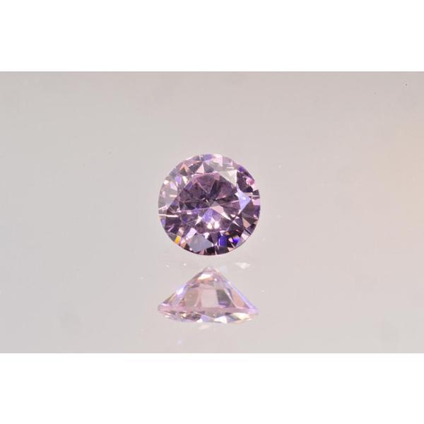 ファンシーピンクダイヤ VS1 ラウンド 0.07カラット ほぼ0.1カラット AGTソーティングつき ピンクダイヤモンド|diadia