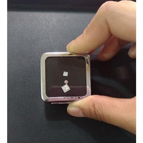 ファンシーピンクダイヤ VS1 ラウンド 0.07カラット ほぼ0.1カラット AGTソーティングつき ピンクダイヤモンド|diadia|07