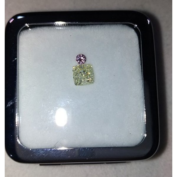 ファンシーピンクダイヤ VS1 ラウンド 0.07カラット ほぼ0.1カラット AGTソーティングつき ピンクダイヤモンド|diadia|08