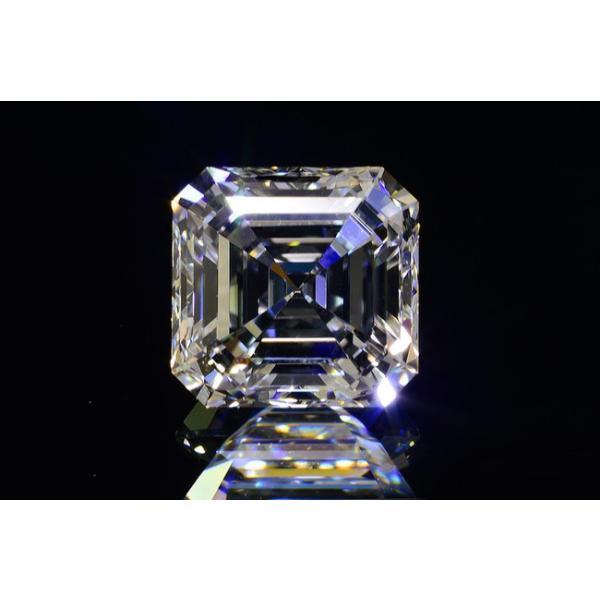 アッシャーカット ダイヤモンド Fカラー 0.5カラット VVS2 透明度高い証明写真つき ダイヤGIA鑑定書 刻印つき|diadia