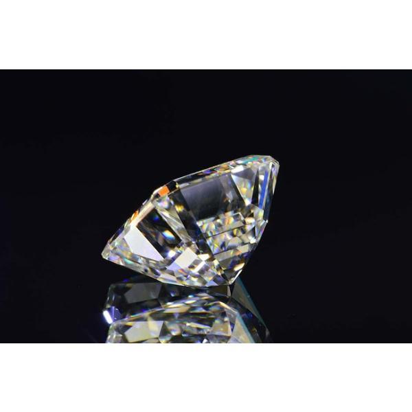 アッシャーカット ダイヤモンド Fカラー 0.5カラット VVS2 透明度高い証明写真つき ダイヤGIA鑑定書 刻印つき|diadia|03