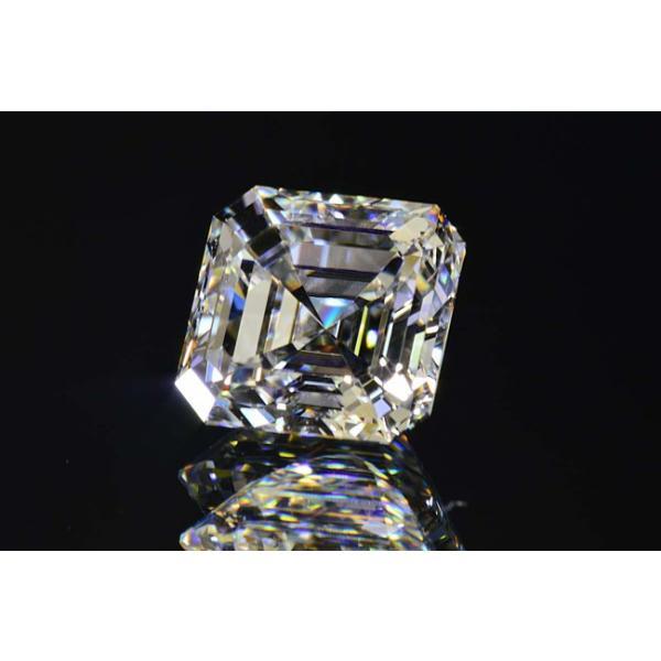 アッシャーカット ダイヤモンド Fカラー 0.5カラット VVS2 透明度高い証明写真つき ダイヤGIA鑑定書 刻印つき|diadia|04