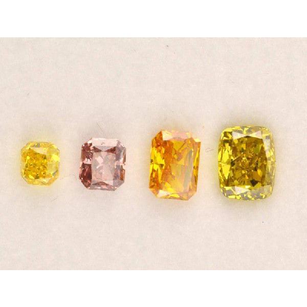 ハッピーカラー ダイヤBox!スクエア四角 ピンクダイヤモンド オレンジダイヤ イエローダイヤ|diadia|03
