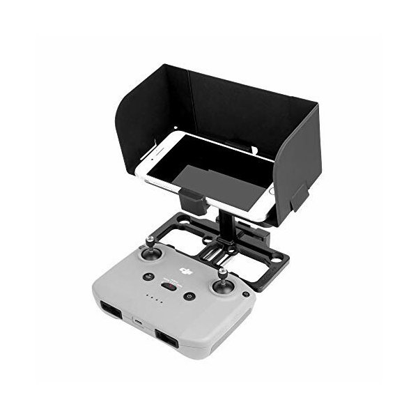TaoricDJIMavicAir2S/MavicAir2/Mini2対応2in1リモコン全画面電話固定ブラケット+シェーディン