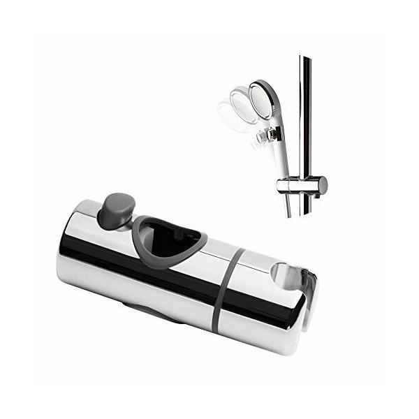 OFFOシャワーフック修理交換用30mmスライドバーに対応360°自由旋?取り付け簡単取扱説明書付き(19-25mm/32m