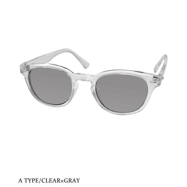 サングラス メンズ ブランド ブルー グレー ブラウン パープル レンズ UVカット スポーツ 大きい 7JEWELRY ウェリントン サングラス|diamonddust|12