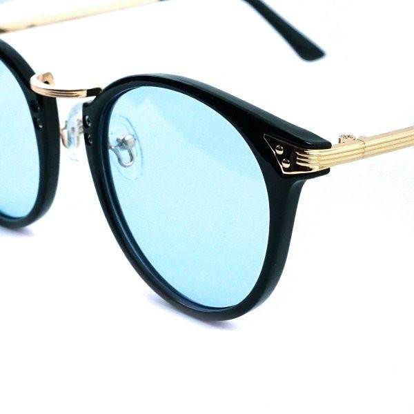 サングラス メンズ ブランド ブルー ブラック グレー レンズ 大きい おしゃれ UVカット 紫外線カット 7JEWELRY ボストン サングラス|diamonddust|12