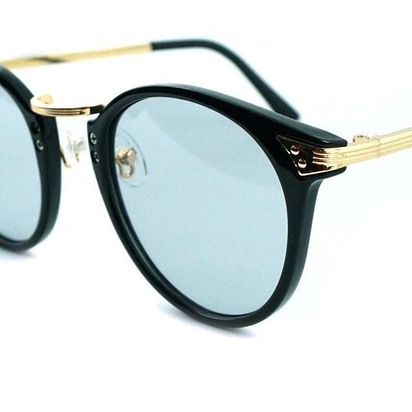 サングラス メンズ ブランド ブルー ブラック グレー レンズ 大きい おしゃれ UVカット 紫外線カット 7JEWELRY ボストン サングラス|diamonddust|14