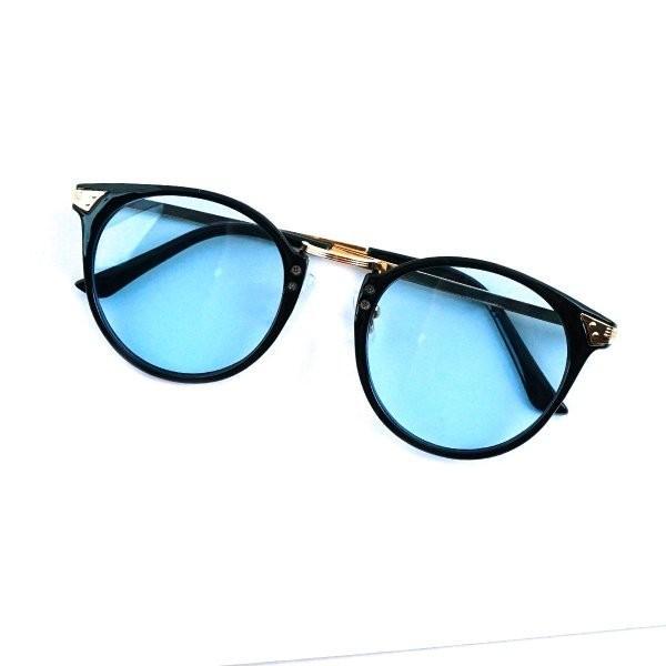 サングラス メンズ ブランド ブルー ブラック グレー レンズ 大きい おしゃれ UVカット 紫外線カット 7JEWELRY ボストン サングラス|diamonddust|15