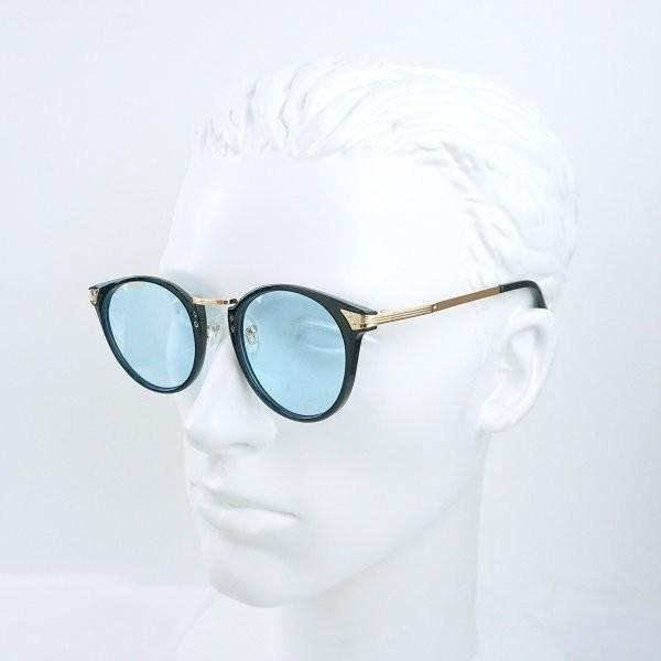 サングラス メンズ ブランド ブルー ブラック グレー レンズ 大きい おしゃれ UVカット 紫外線カット 7JEWELRY ボストン サングラス|diamonddust|18