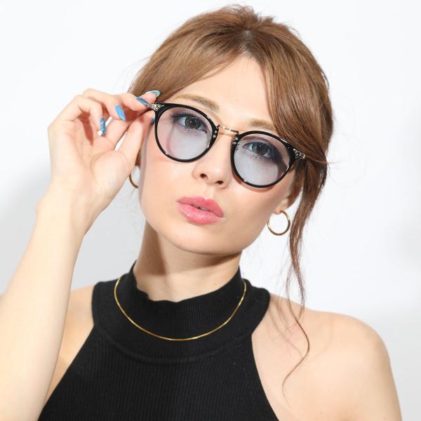 サングラス メンズ ブランド ブルー ブラック グレー レンズ 大きい おしゃれ UVカット 紫外線カット 7JEWELRY ボストン サングラス|diamonddust|03