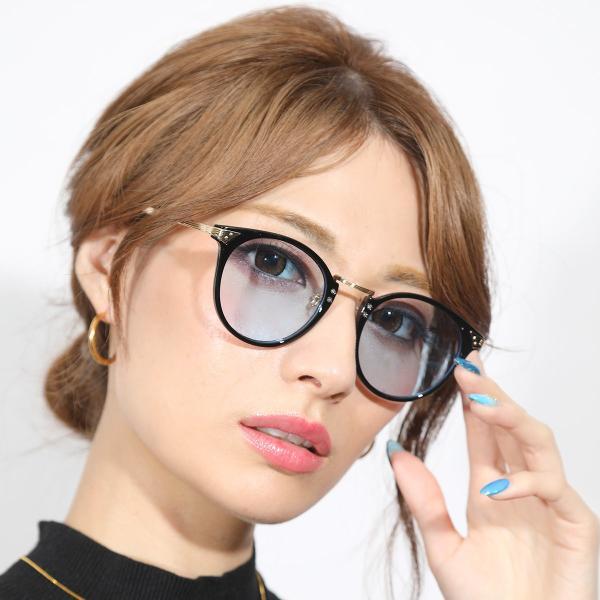 サングラス メンズ ブランド ブルー ブラック グレー レンズ 大きい おしゃれ UVカット 紫外線カット 7JEWELRY ボストン サングラス|diamonddust|05