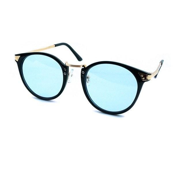サングラス メンズ ブランド ブルー ブラック グレー レンズ 大きい おしゃれ UVカット 紫外線カット 7JEWELRY ボストン サングラス|diamonddust|06