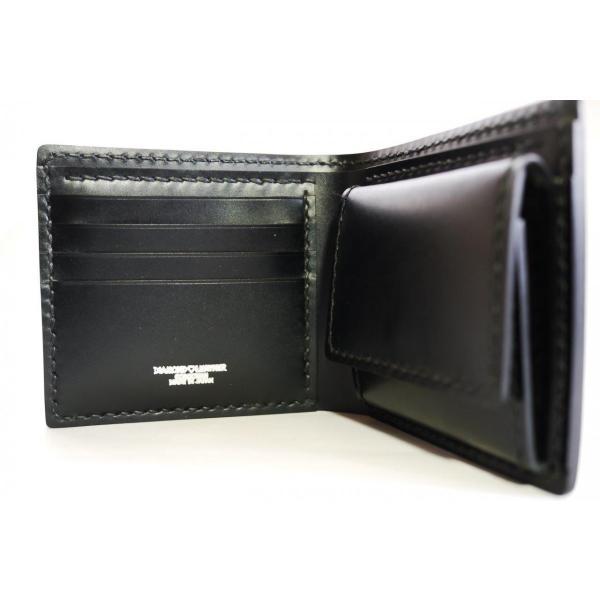 DIAMOND LEATHER コードバン 2つ折り財布 カスタムオーダーメイド|diamondleather|03