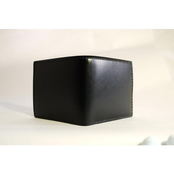 ダイモンドレザー 宮内産業コードバン 2つ折財布(カードタイプ)|diamondleather|02
