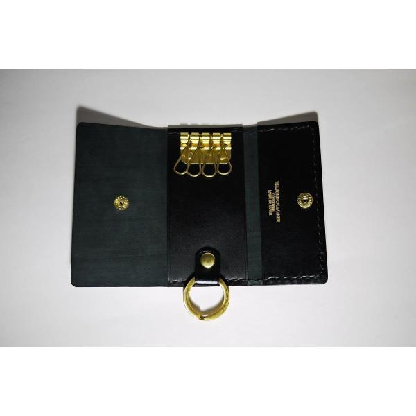 ダイヤモンドレザー 宮内産業コードバン キーケース 4連|diamondleather|02