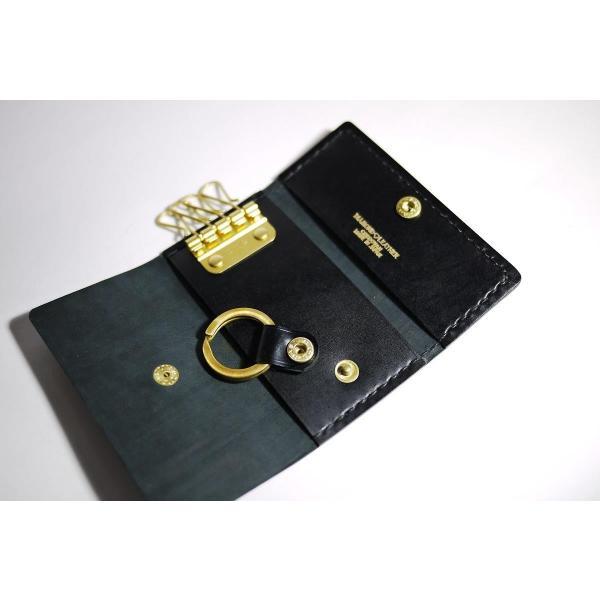 ダイヤモンドレザー 宮内産業コードバン キーケース 4連|diamondleather|03