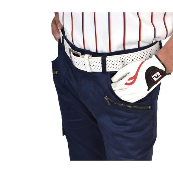 ゴルフ ウェア ゴルフウェア メンズ ストレッチ ゴルフパンツ ズボン ロングパンツ  おしゃれ スリット入り 春 夏 2017 秋冬 CG-140707|diana|08