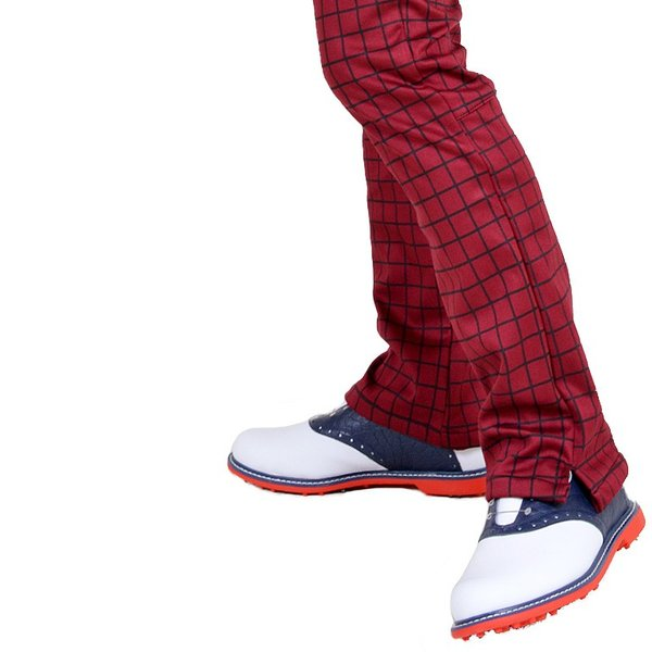 ゴルフウェア メンズ パンツ スリット ズボン 暖パン ゴルフパンツ ゴルフ ウエア 大きいサイズ ストレッチ 防寒 裏フリース 裏起毛 秋冬 秋 冬 2018 CG-160725|diana|05