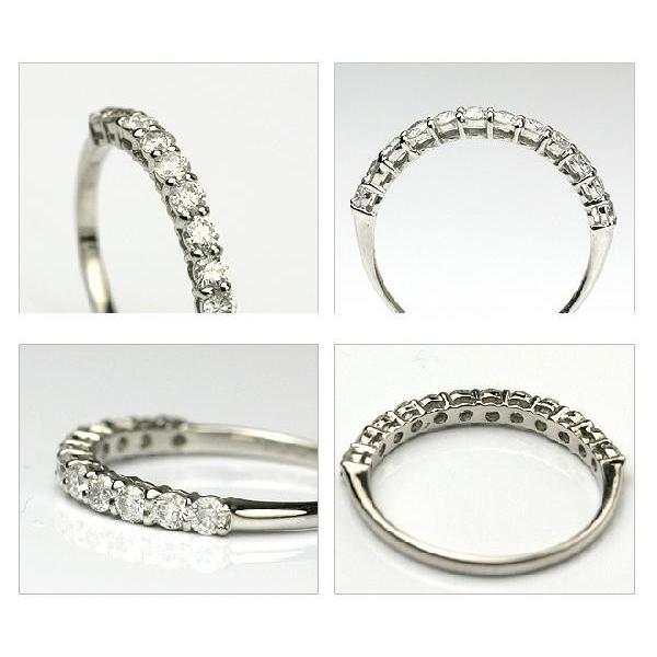 PTダイヤモンドリング 0.50ct  ハーフエタニティータイプ  品質保証書付 ダイヤモンド  輝き厳選保証 diaw 03