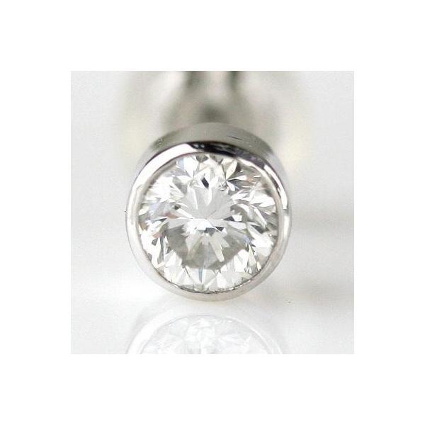 PTダイヤモンド メンズピアス0.3ct H-SI2-Good|diaw|02