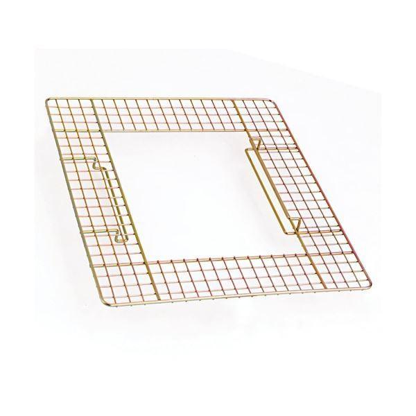 (まとめ) テラモト 吸殻入れII用ワイヤーテーブル SS-258-500-0 1台 〔×20セット〕