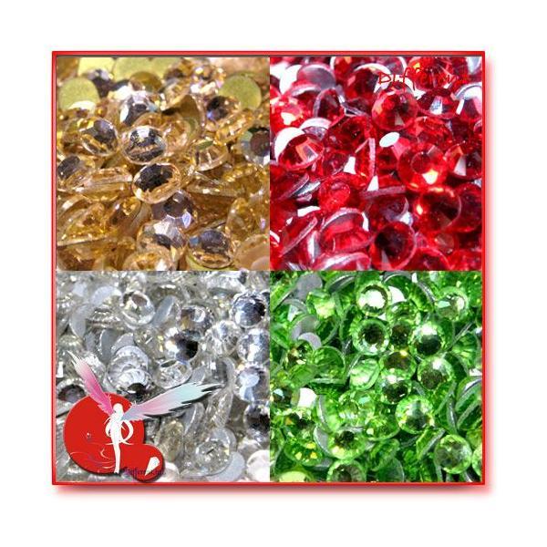 高品質 ガラス製ストーン SS16 (約3.8mm) 27Color 50粒|different|03