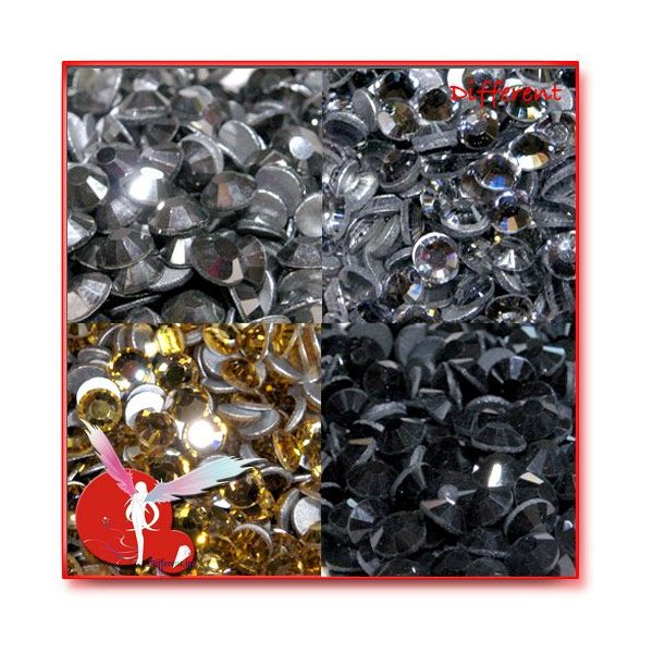高品質 ガラス製ストーン SS16 (約3.8mm) 27Color 50粒|different|05