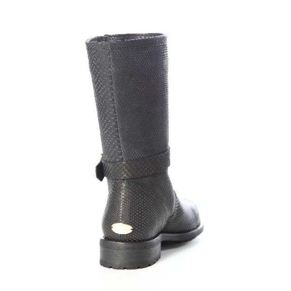 2015年秋冬新作 ジミーチュウ JIMMY CHOO ブーツ エンジニアブーツ 靴 レディース DURUM RPH ブラック