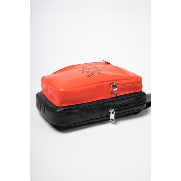 アルマーニ エクスチェンジ ARMANI EXCHANGE ショルダーバッグ ボディバッグ 952155 9P013 ブラックオレンジ
