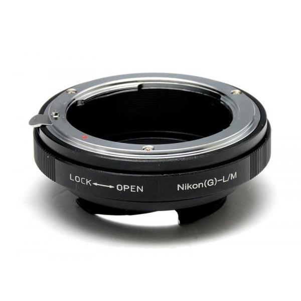 マウントアダプター ニコン F Gタイプ レンズ → リコー GXR MOUNT A12ボディ