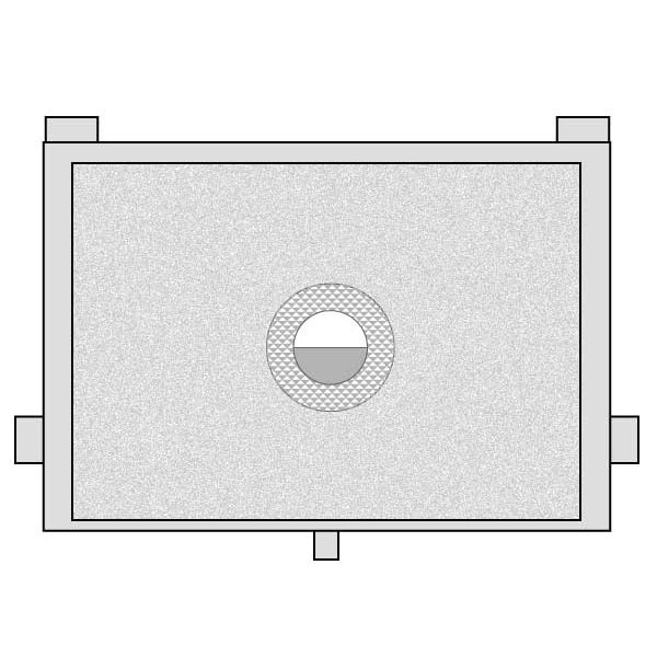 スプリットマイクロ フォーカシングスクリーン EC-Bタイプ キヤノン EOS 20D・30D用
