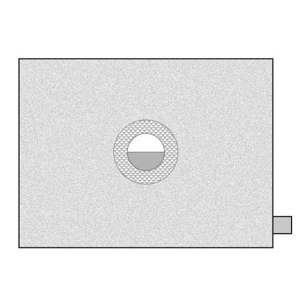 スプリットマイクロ フォーカシングスクリーン EC-Bタイプ オリンパス E-400・E-410・E-420・E-500・E-510・E-520・E-620用