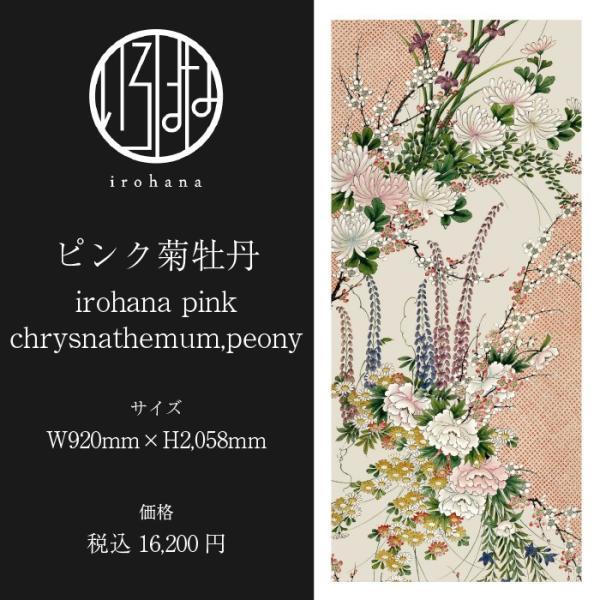いろはな壁紙 ピンク菊牡丹