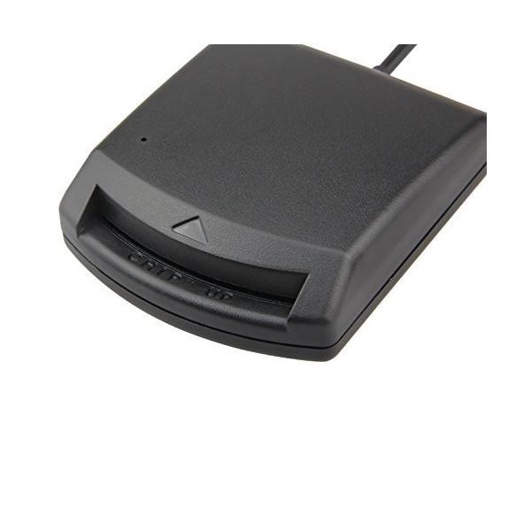 マイナンバーカード申請 ICカードリーダーライター USB接続 e-TAX 住基カード対応 BLACK黒|digital-gadget-geek|03