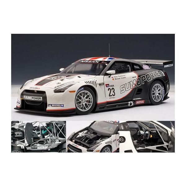オートアート 1/18 日産 GT-R FIA GT1 2010 SUMO P... - でじたみん Yahoo!店