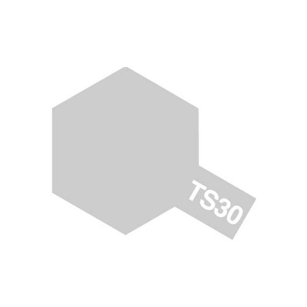 タミヤ スプレー TS-30 シルバーリーフ(V0374)