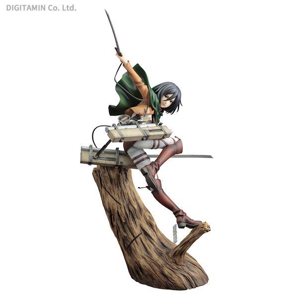 再販 コトブキヤ 1/8 ARTFX J ミカサ・アッカーマン リニューアルパッケージver. 進撃の巨人 フィギュア 【9月予約】
