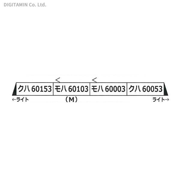 送料無料◆A7573 マイクロエース 小田急ロマンスカー60000形 MSE改良品 増結4両セット Nゲージ 再生産 鉄道模型 【7月予約】
