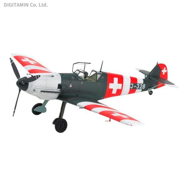 タミヤ 1/48 メッサーシュミット Bf109 E-3 スイス空軍 スケールモデル ...