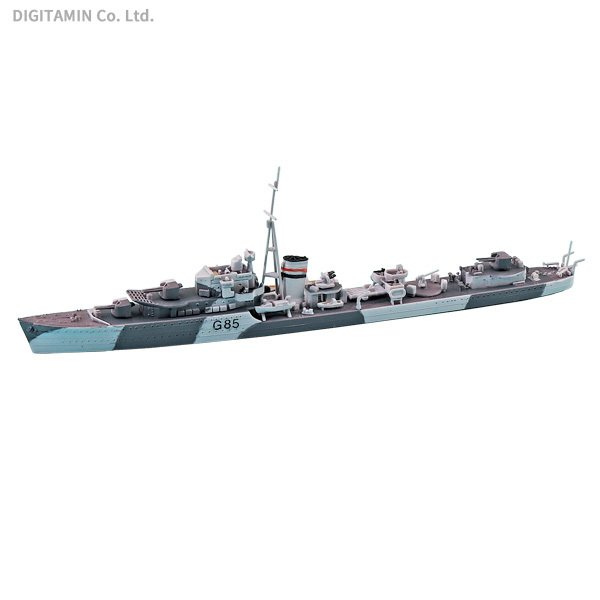 アオシマ 1/700 英国海軍 駆逐艦 ジュピター プラモデル ウォーター ...