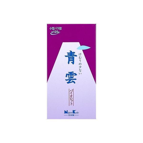 青雲バイオレツト小型バラ詰 ( 日本香堂 ) ( お線香 )
