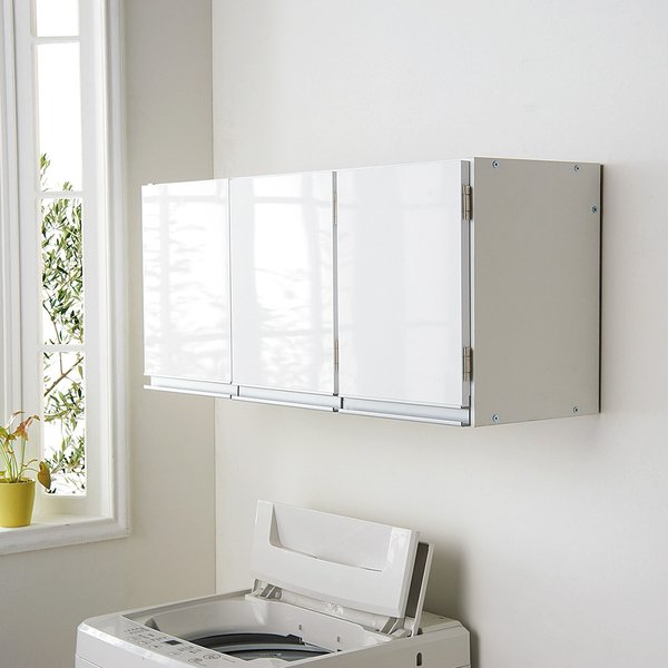 RoomClip商品情報 - 光沢仕上げ吊り戸棚 扉タイプ 幅90cm 705538