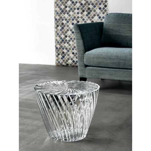 Kartell Sparkle カルテル スパークル イタリア製 サイドテーブル (デザイン・吉岡徳仁)  H23374