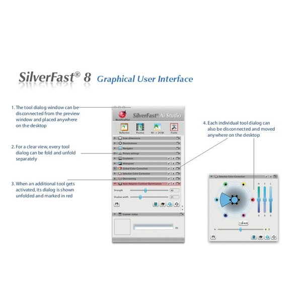EPSON用SilverFast SE Plus 写真画像の管理編集ソフト フィルムスキャン 自動IT8校正適応  埃キズ除去処理 自動フレーム機能|dipah-shop|13