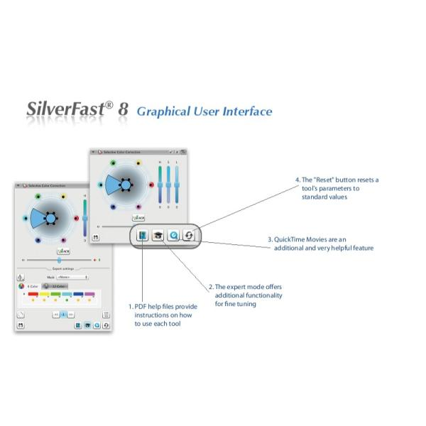 EPSON用SilverFast SE Plus 写真画像の管理編集ソフト フィルムスキャン 自動IT8校正適応  埃キズ除去処理 自動フレーム機能|dipah-shop|15