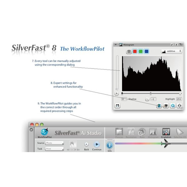EPSON用SilverFast SE Plus 写真画像の管理編集ソフト フィルムスキャン 自動IT8校正適応  埃キズ除去処理 自動フレーム機能|dipah-shop|06