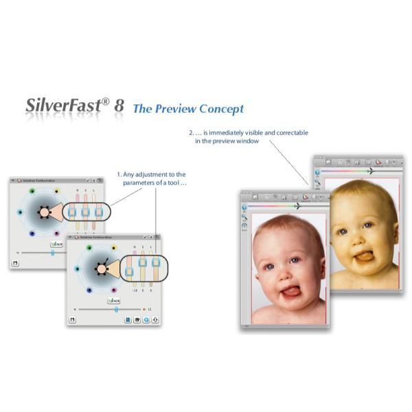 EPSON用SilverFast SE Plus 写真画像の管理編集ソフト フィルムスキャン 自動IT8校正適応  埃キズ除去処理 自動フレーム機能|dipah-shop|10