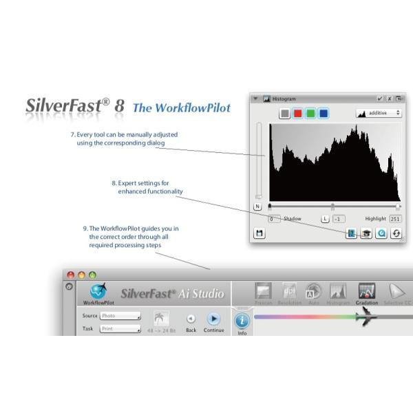 EPSON用SilverFast SE 写真・画像の管理編集ソフト ネガフィルムスキャン 自動IT8校正適応  埃キズ除去処理 自動フレーム機能|dipah-shop|06